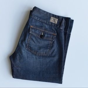 Lucky Brand Dungarees Culotte Flare Jeans!